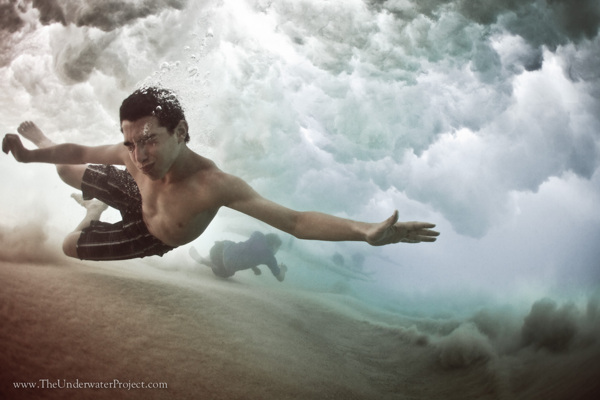 """ Finding Escape "" Underwater Photography by Mark Tipple"